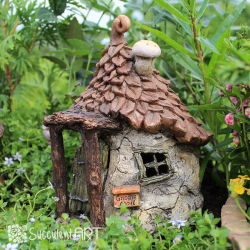 Mini Garden Houses & Furniture